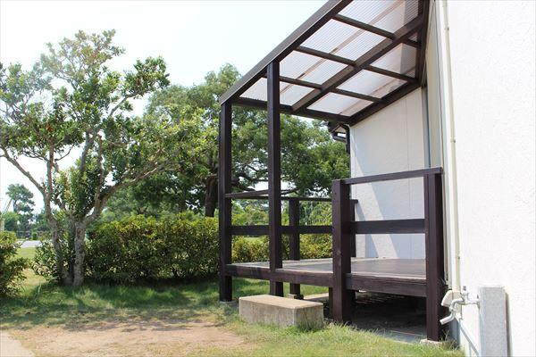 竜洋海洋公園オートキャンプ場コテージRE