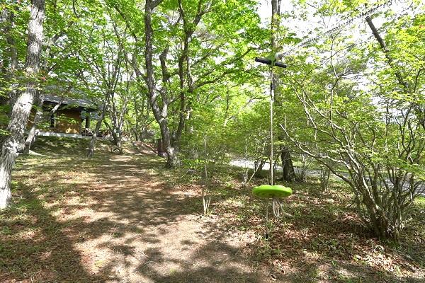 榛名湖オートキャンプ場遊具2